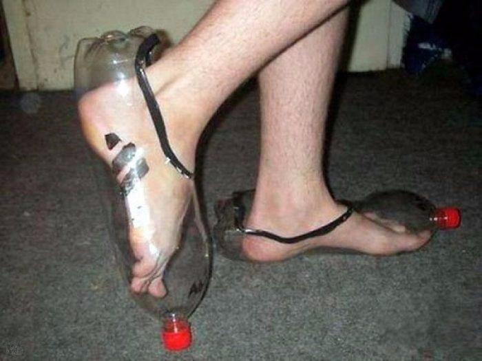 обувь из пластиковых бутылок