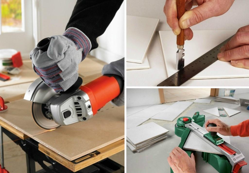 как резать керамическую плитку