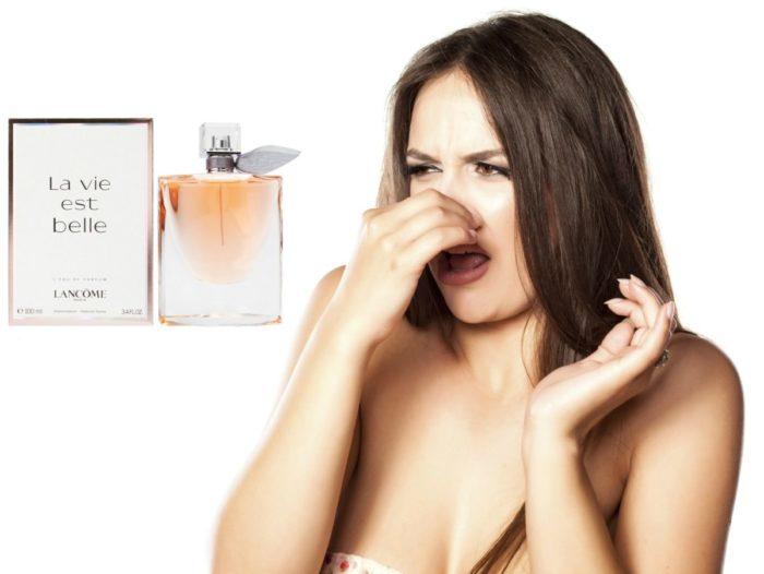 неприятный парфюм