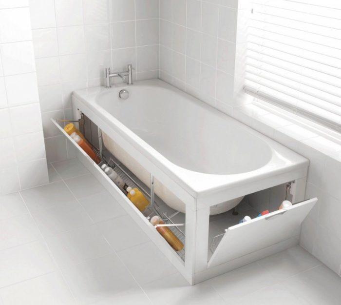 система хранения в ванной