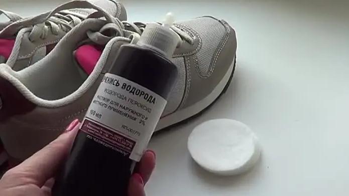 перекись водорода от неприятного запаха в обуви