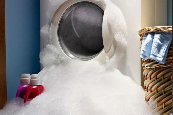 шампунь вместо стирального порошка