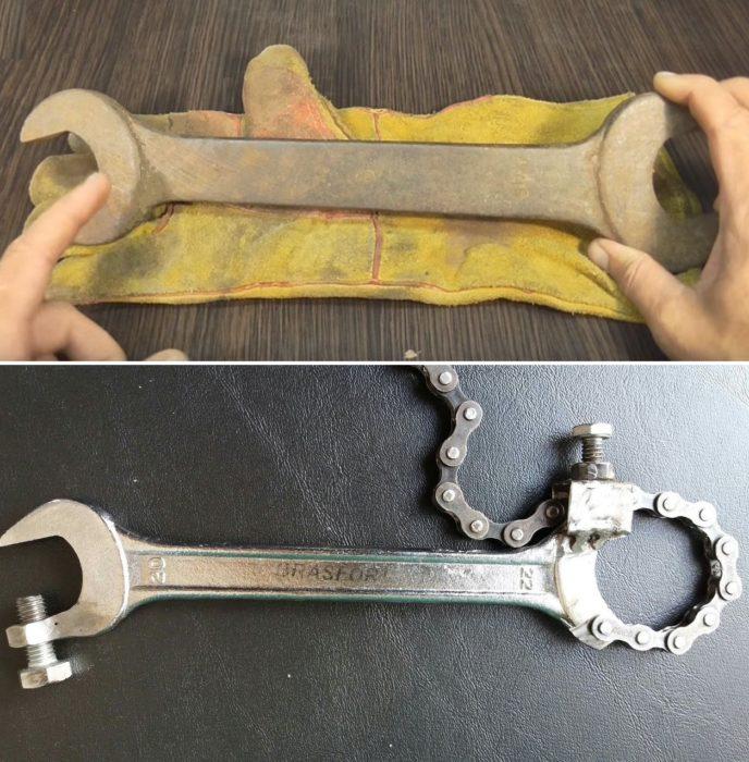 Как сделать универсальный гаечный ключ