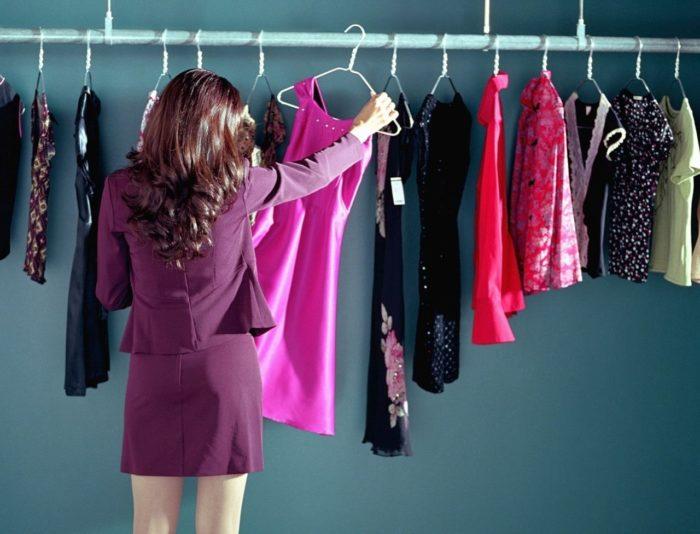 покупка модной одежды