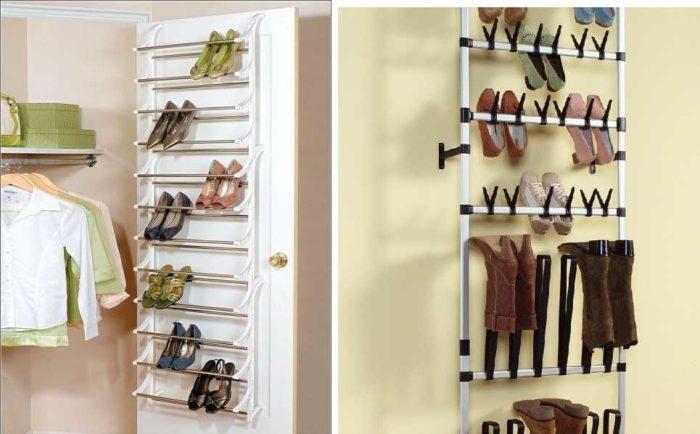 Как сделать обувницы подвесные своими руками