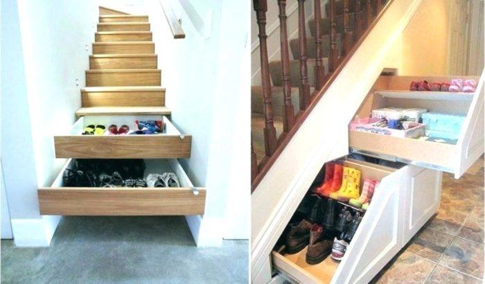 Обувница-лестница
