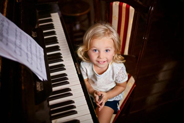 уроки музыки в детстве