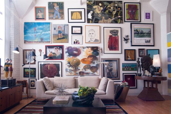 картины в квартире
