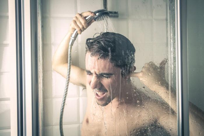 Горячий душ перед сном