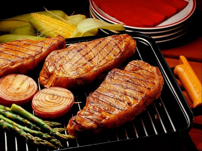можно ли жарить мясо