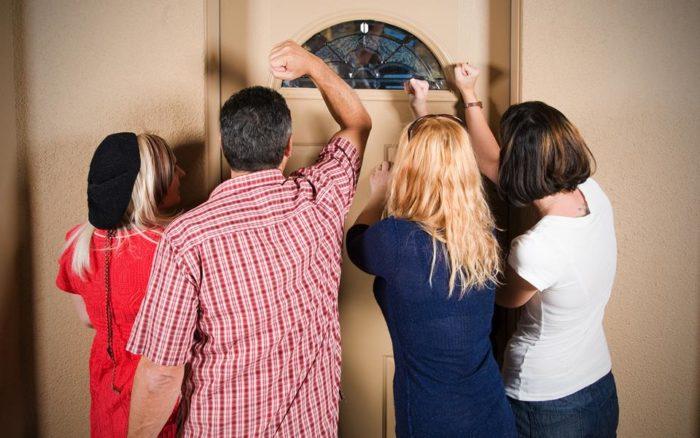 как правильно встречать гостей