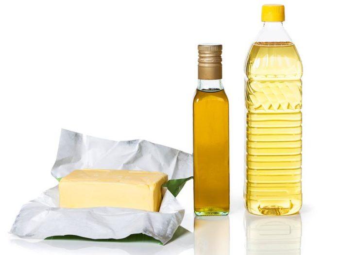 маргарин и рафинированное масло