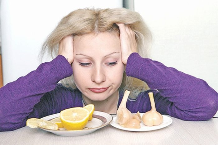 продукты от головной боли