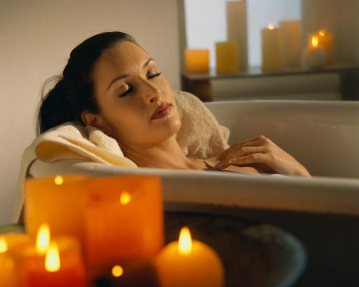 ванна снимает стресс