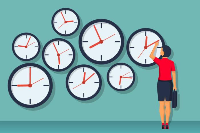 рассчитывайте время до минуты